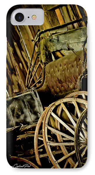 IPhone Case featuring the photograph Old Carriage by Joann Copeland-Paul