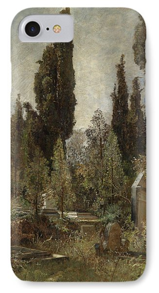 Old Cemetery IPhone Case by Marie Egner