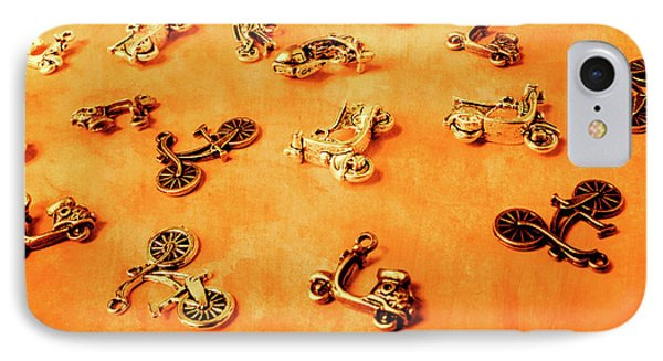 Old Charm Scooters IPhone Case by Jorgo Photography - Wall Art Gallery