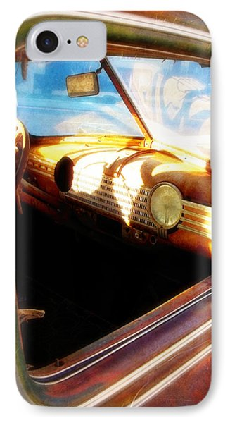 IPhone Case featuring the photograph Old Chevrolet Dashboard by Glenn McCarthy Art and Photography