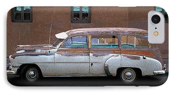 IPhone Case featuring the photograph Old Chevy by Jim Mathis