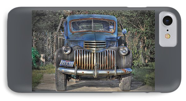 IPhone Case featuring the photograph Old Chevy Truck by Savannah Gibbs