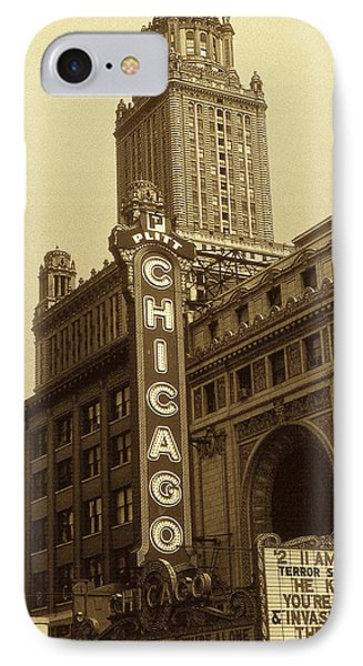 Old Chicago Theater - Vintage Photo Art Print IPhone Case