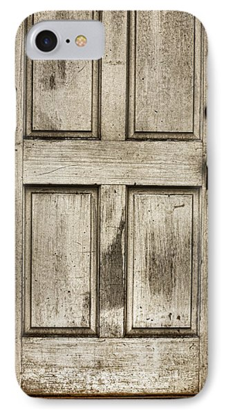 Old Church Door Phone Case by Bonnie Bruno
