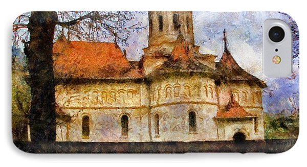 Old Church With Red Roof IPhone Case by Jeff Kolker