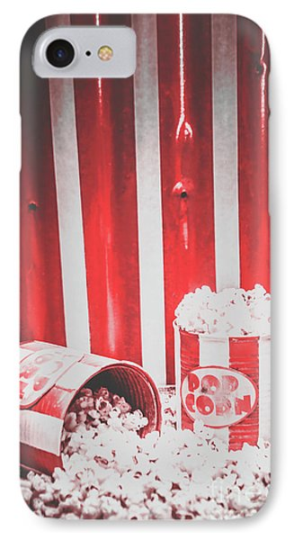 Old Cinema Pop Corn IPhone Case by Jorgo Photography - Wall Art Gallery