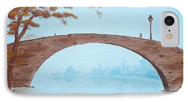 Old City Bridge IPhone Case by Birgit Moldenhauer