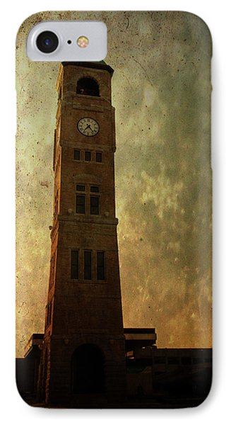 Old City Hall Clock Tower IPhone Case by Joel Witmeyer