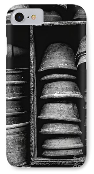 IPhone Case featuring the photograph Old Clay Pots by Edward Fielding
