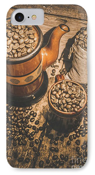 Old Coffee Brew House Beans IPhone Case by Jorgo Photography - Wall Art Gallery