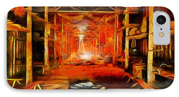 Old Cottage - Da IPhone Case by Leonardo Digenio