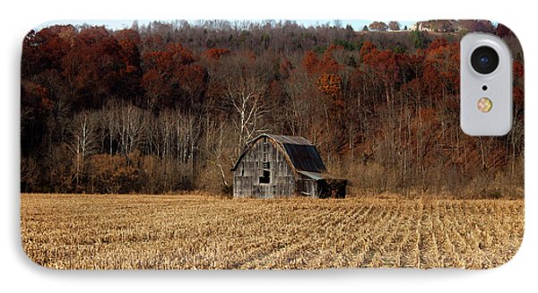 Old Country Barn In Autumn #1 IPhone Case by Jeff Severson