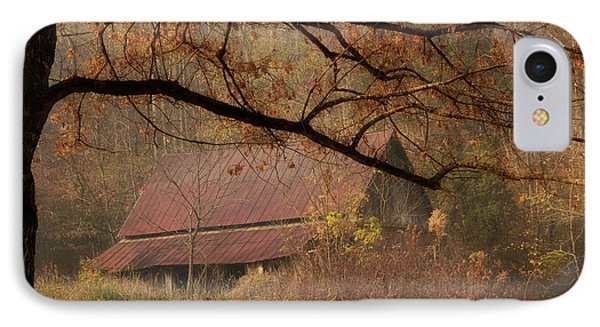 Old Country Barn IPhone Case by Mike Eingle