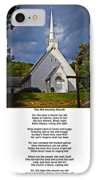 Old Country Church Phone Case by John Haldane