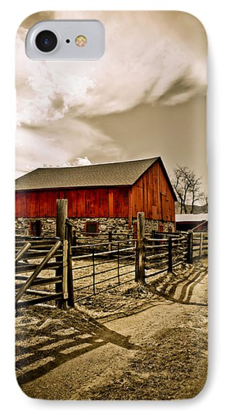 Old Country Farm Phone Case by Marilyn Hunt