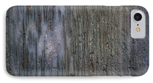 Old Cracked Wood Background IPhone Case by Elena Elisseeva