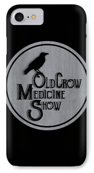 Old Crow Medicine Show Sign IPhone Case