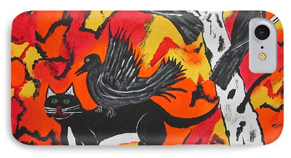 Old Crow Rodeo IPhone Case by Jeffrey Koss