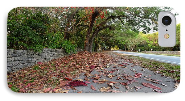 Old Cutler Road Coral Gables IPhone Case by Eyzen M Kim