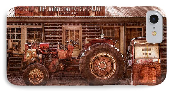 Old Days Vintage IPhone Case by Debra and Dave Vanderlaan