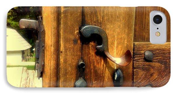 Old Door Handle IPhone Case