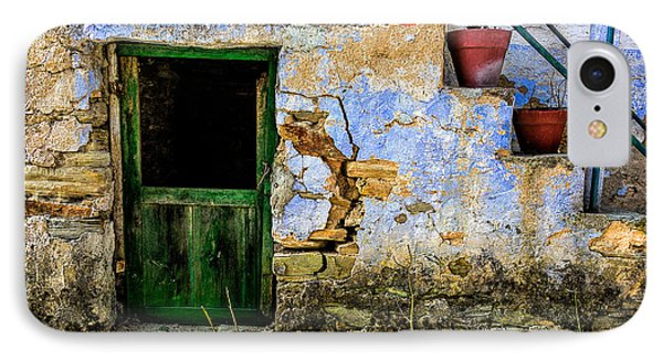Old Door In Portugal IPhone Case