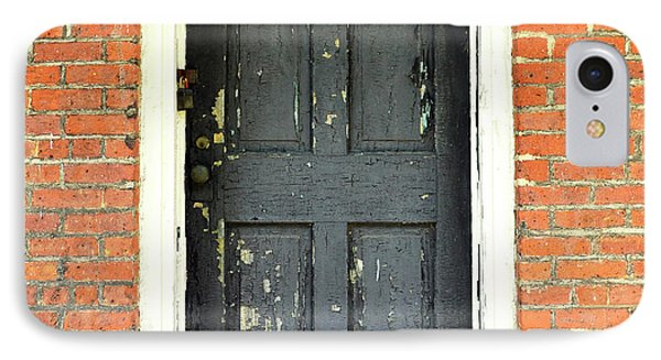 Old Door IPhone Case by Zawhaus Photography