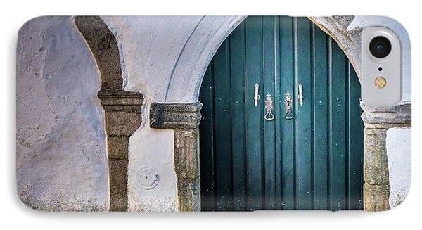 Old Doorway In Monsaraz IPhone Case