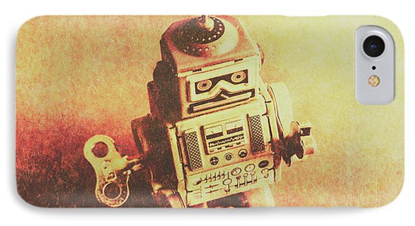 Old Electric Robot IPhone Case by Jorgo Photography - Wall Art Gallery