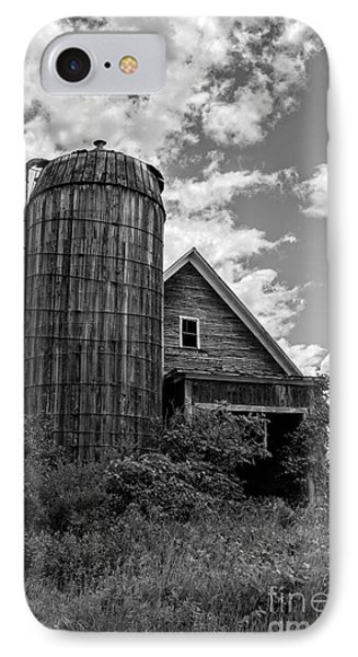 Old Ely Vermont Barn IPhone Case by Edward Fielding