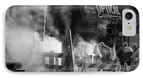 IPhone Case featuring the photograph Old Faithful New York by Dave Beckerman