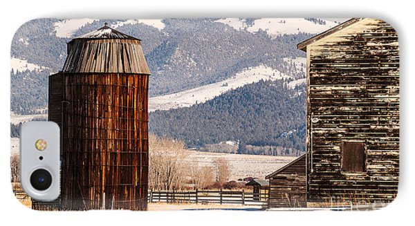 Old Farm Buildings Phone Case by Sue Smith