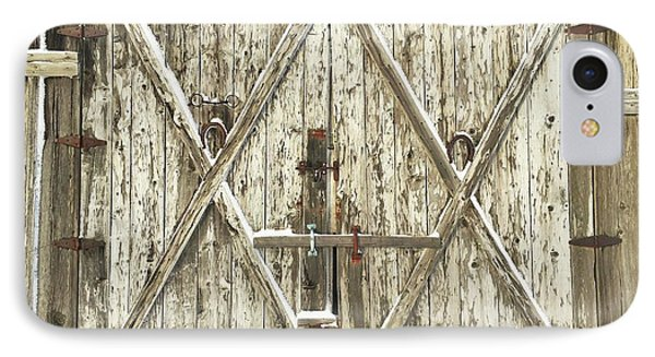 Old Farm Doors IPhone Case