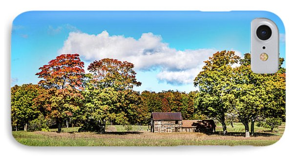 IPhone Case featuring the photograph Old Farm House by Onyonet  Photo Studios