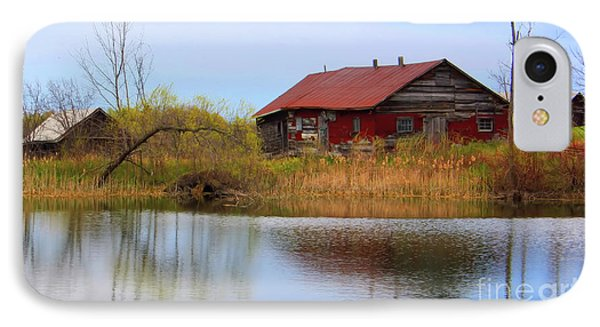 Old Farm Houses IPhone Case