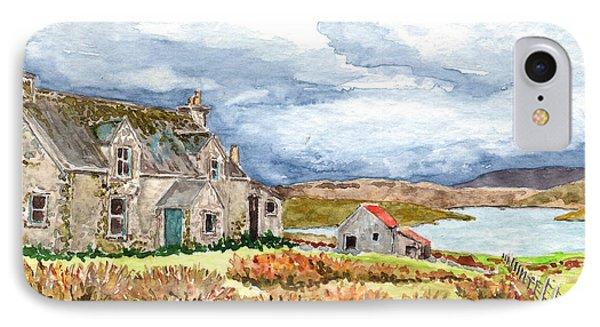 Old Farm Isle Of Lewis Scotland IPhone Case by Timithy L Gordon