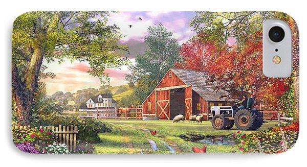 Old Farmhouse IPhone Case by Dominic Davison