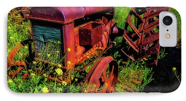 Old Fordson Tractor IPhone Case