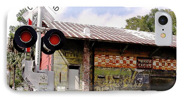 Old Freight Depot Perry Fl. Built In 1910 IPhone Case