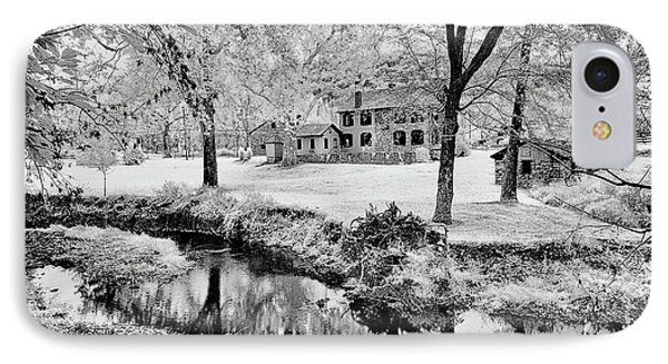 IPhone Case featuring the photograph Old Frontier House by Paul W Faust - Impressions of Light