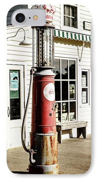 IPhone Case featuring the photograph Old Fuel Pump by Alexey Stiop