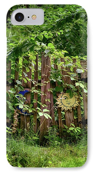 IPhone Case featuring the photograph Old Garden Gate by Mark Miller