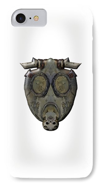 Old Gas Mask IPhone Case