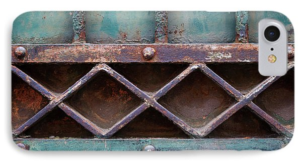 IPhone Case featuring the photograph Old Gate Geometric Detail by Elena Elisseeva