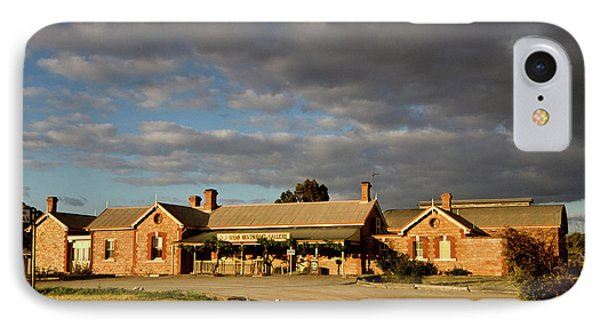 IPhone Case featuring the photograph Old Ghan Railway Restaurant by Douglas Barnard
