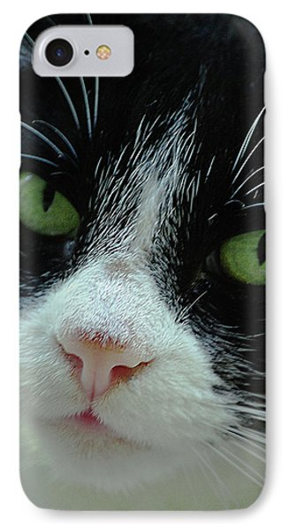 Old Green Eyes Phone Case by DigiArt Diaries by Vicky B Fuller