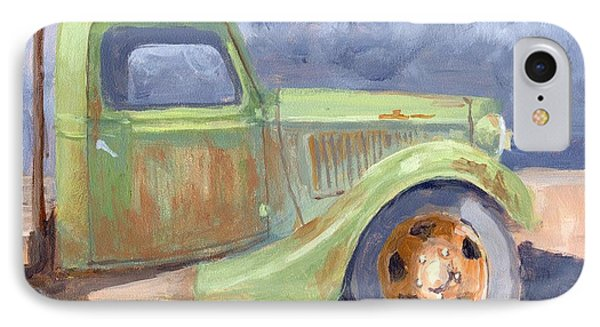 Old Green Ford IPhone Case