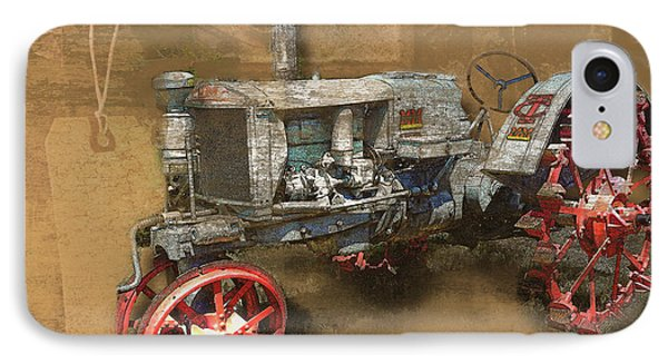 Old Grey Tractor IPhone Case