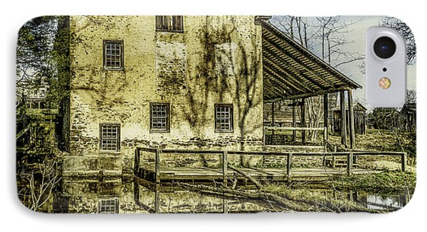 Old Grist Mill IPhone Case by Nick Zelinsky