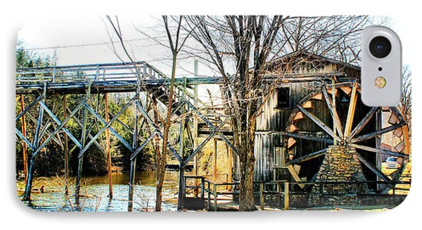 Old Gristmill IPhone Case by Rick Friedle